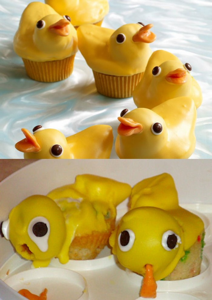 Nailed It!? Pinterest Pastry Expectations Versus Reality