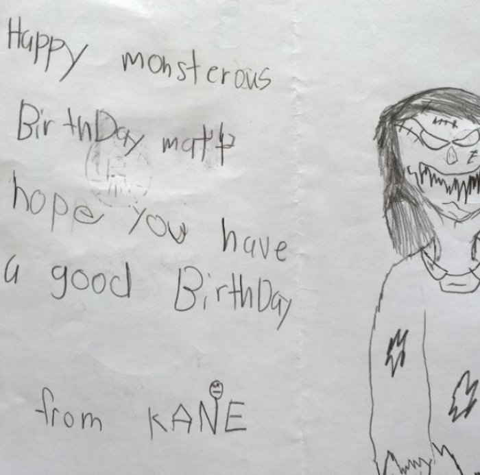 Hilarious Proof That Kids Write Better Birthday Cards Than You